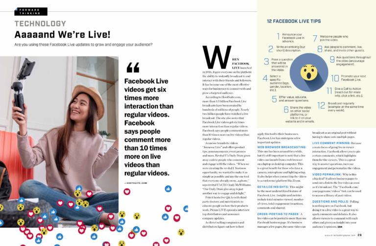 2019-20 Facebook Live Trends