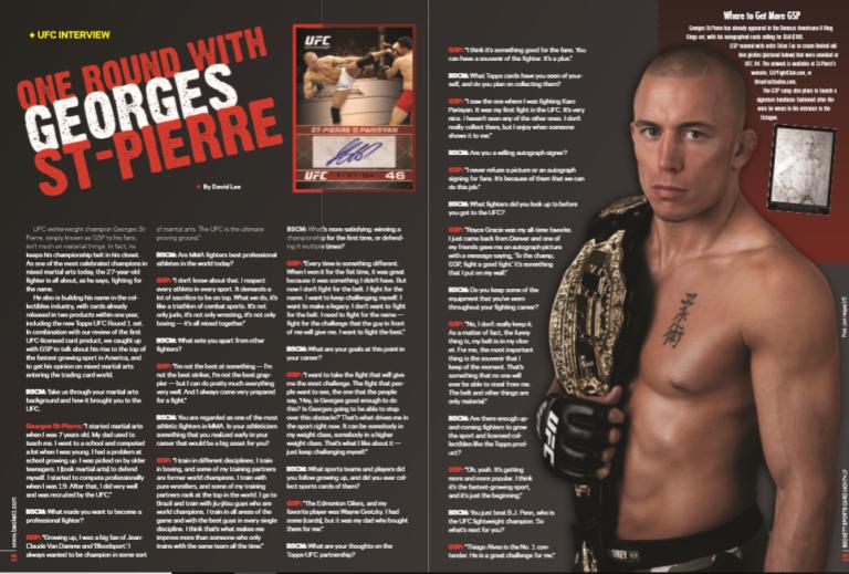 Georges St-Pierre UFC Interview